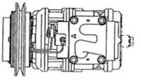 KIA PREGIO -R134A, 10PA17C A-SINGLE (SUC 3046)