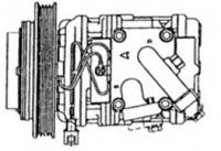 KIA SEPHIA -R134A, 10PA15C 4PK GROOVE (SUC 3053)